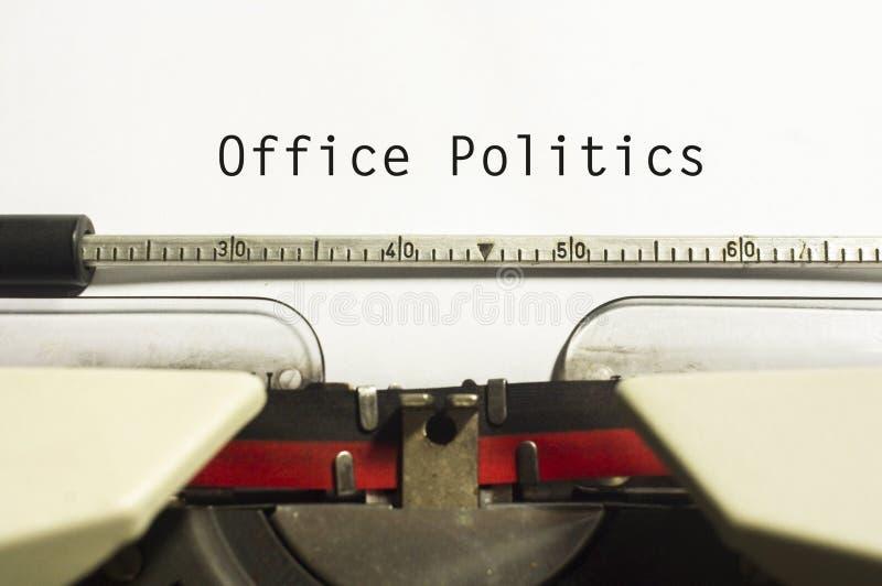 Política de la oficina fotos de archivo libres de regalías