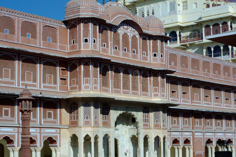 Político de Ridhi Sidhi en el palacio de la ciudad, Jaipur. fotos de archivo libres de regalías