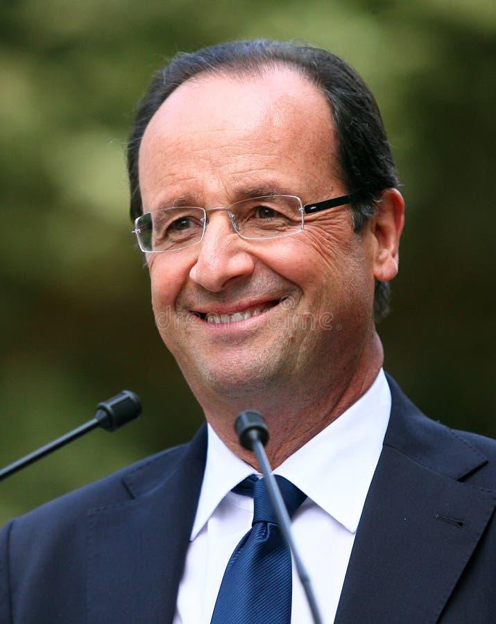Político francês Francois Hollande fotografia de stock
