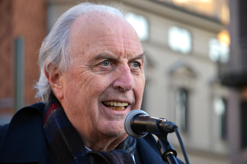 Político norueguês Svein FlÃ¥tten (h) fotografia de stock royalty free
