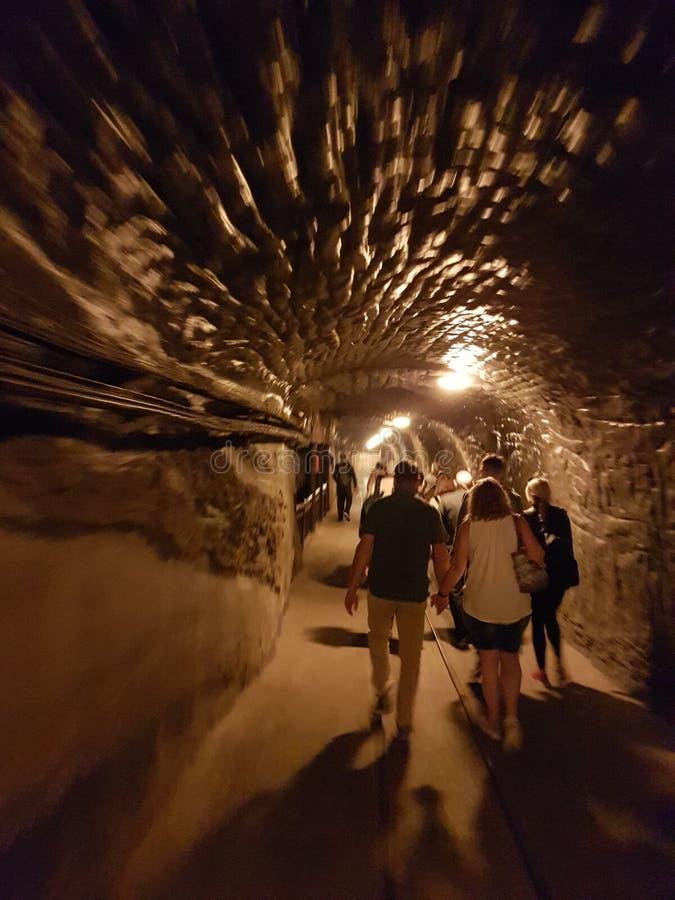 Polônia das minas de sal imagens de stock royalty free