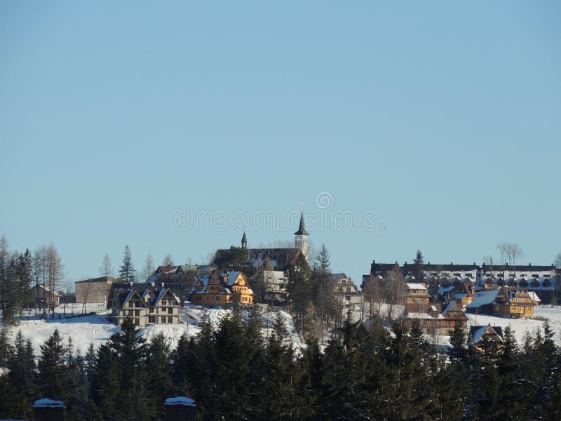 Polônia de Zakopane- imagem de stock royalty free