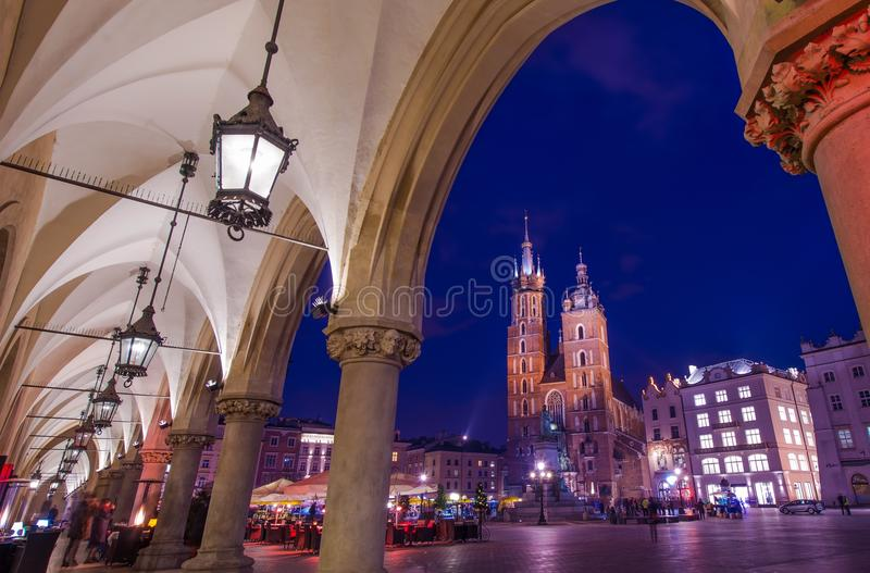 Polônia de visita de Cracow fotografia de stock royalty free