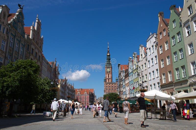 Polônia Gdansk fotografia de stock