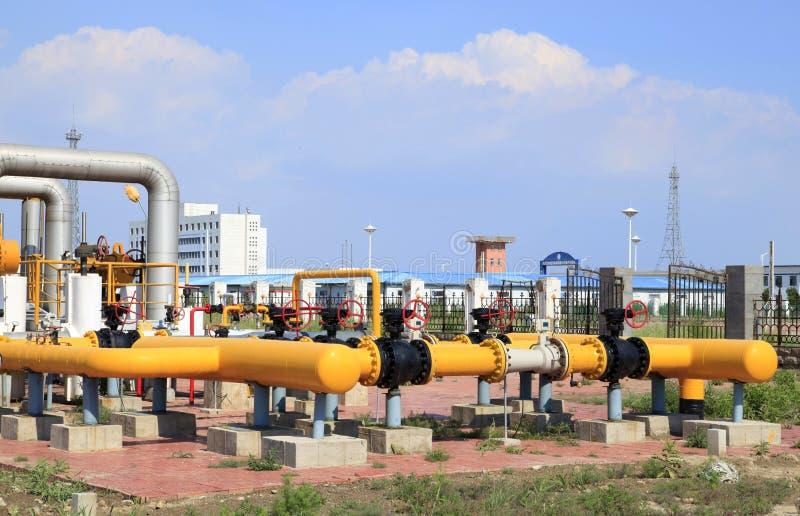 Pola naftowego wyposażenie fotografia stock