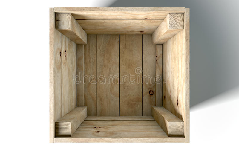 pola puste drewna obrazy stock