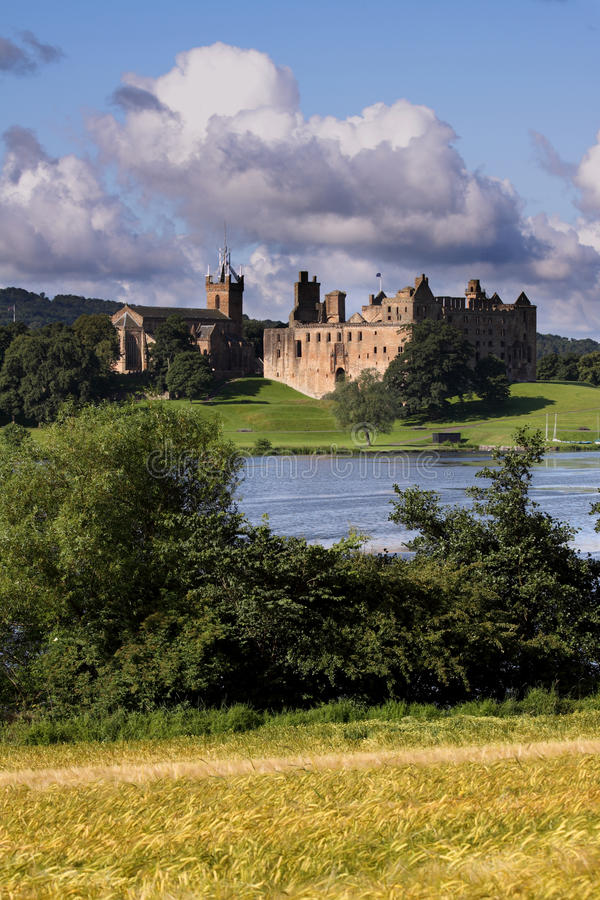 pola uprawnego linthithgow pałac zdjęcie royalty free
