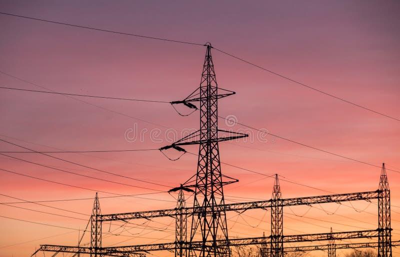polacy elektryczne zdjęcia royalty free