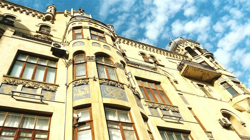 Poland architecturets project in Baku city royalty free stock images