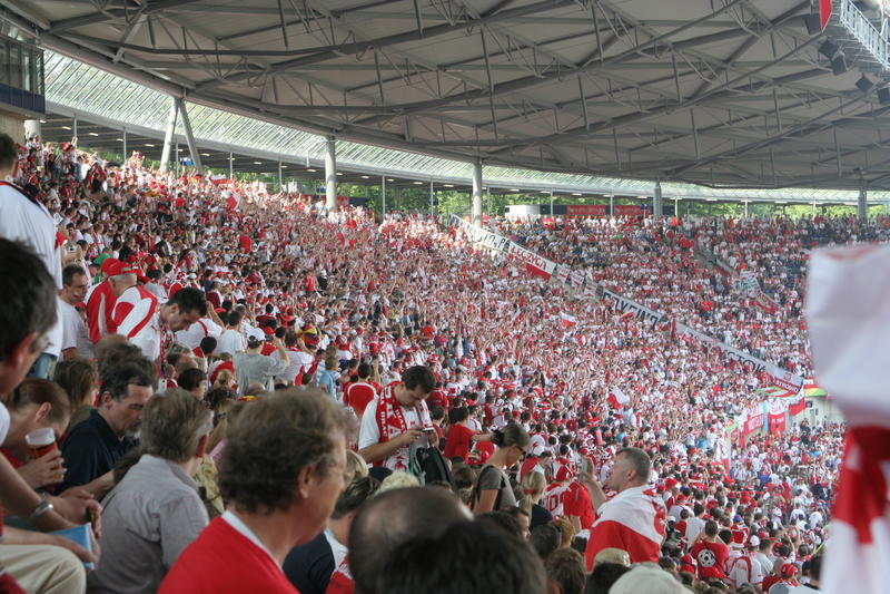 Poland-Costela 2006 do copo de mundo de FIFA Rica imagem de stock