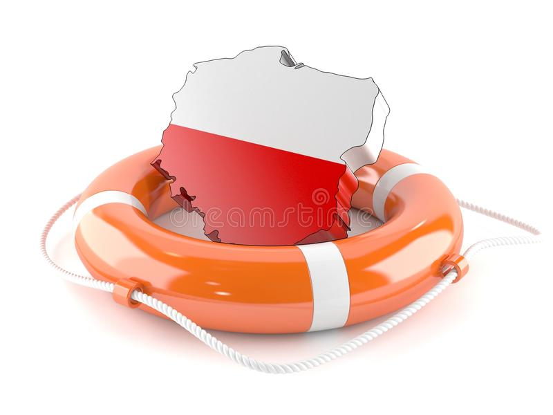 Poland country vector illustration