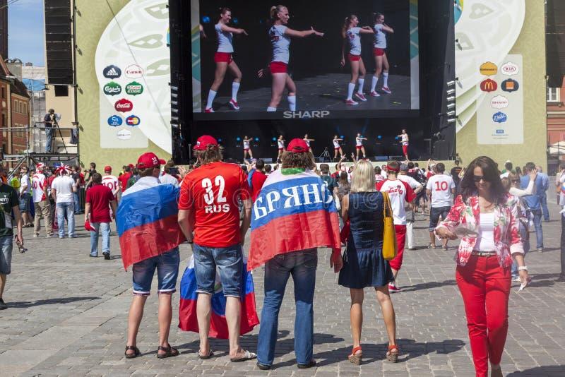 poland för euro 2012 wroclaw fotografering för bildbyråer