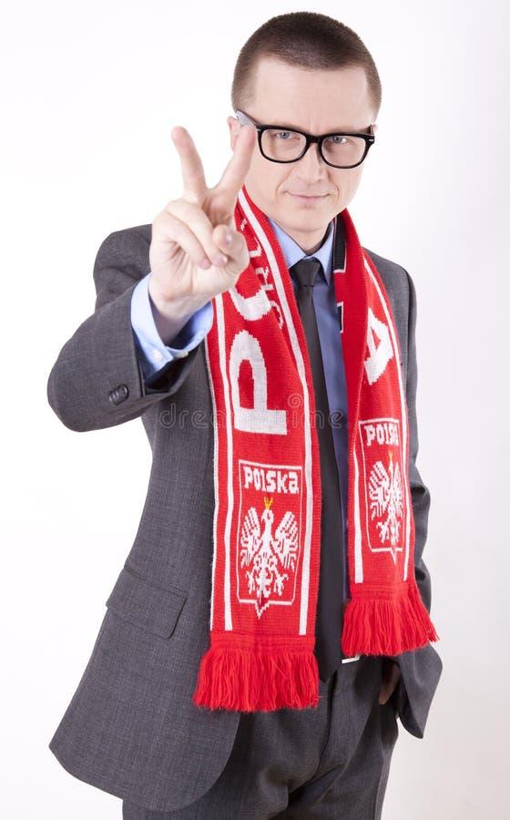 Download Poland fan stock image. Image of polska, public, soccer - 24898173