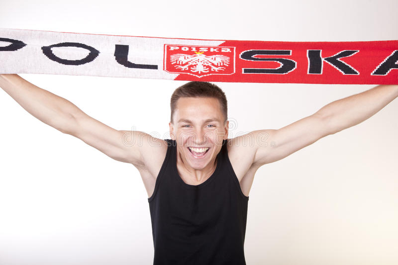 Download Poland Fan Stock Photos - Image: 25034503