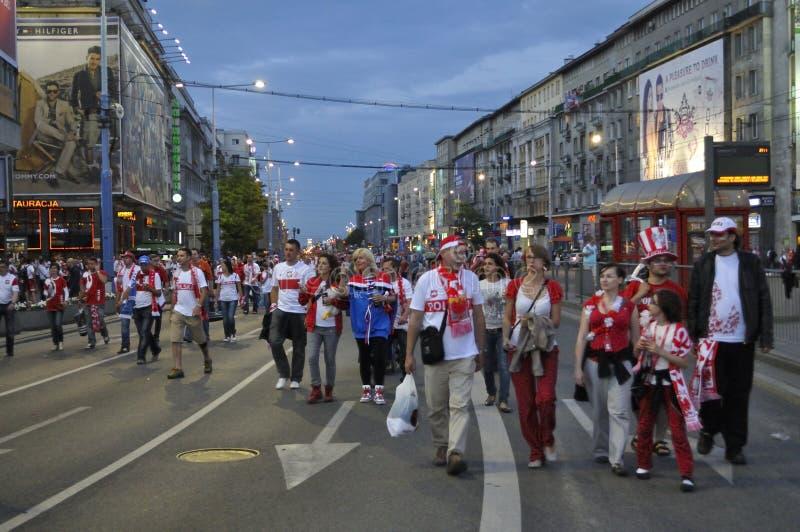 Poland Fans EURO 2012 Editorial Image