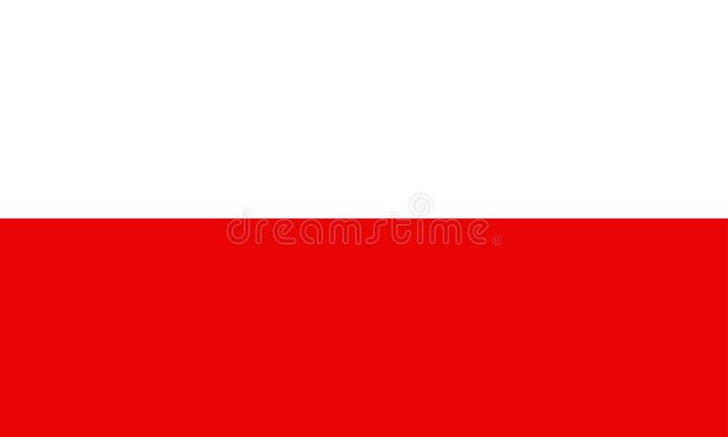 Download Poland flag stock illustration. Image of stripe, flag - 7135827