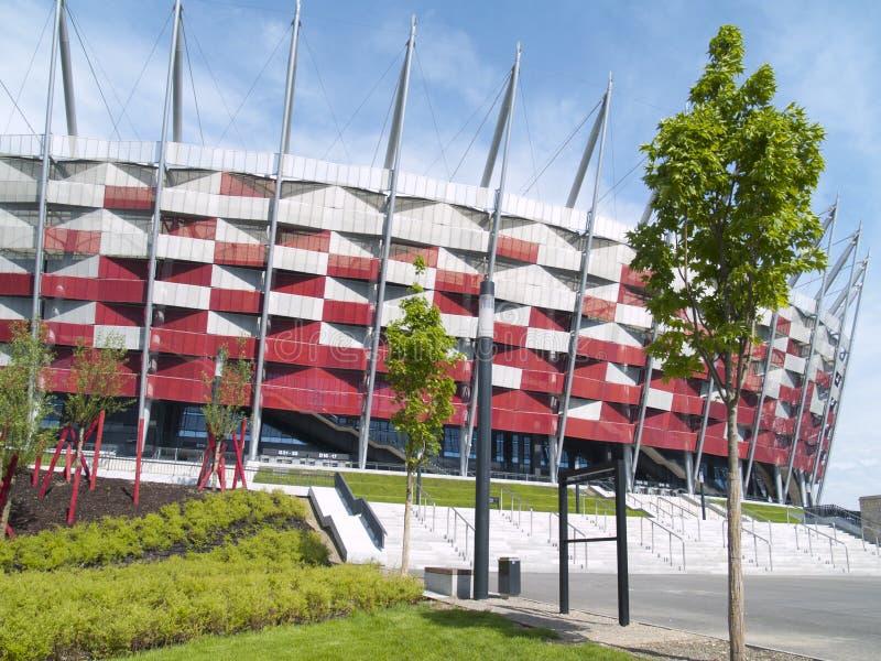 poland krajowy stadium Warsaw obraz stock