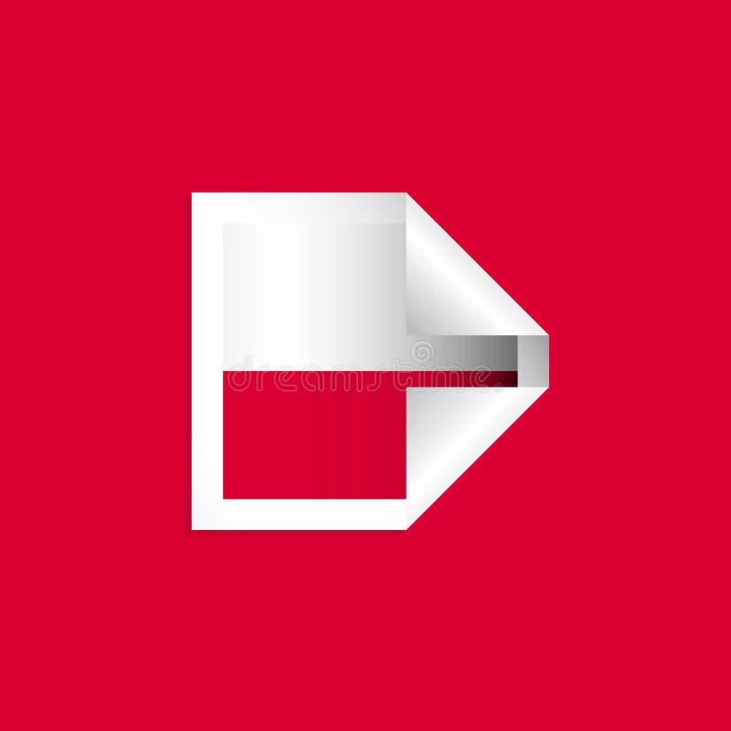 Poland Label Flags Vector Design Illustration vector illustration