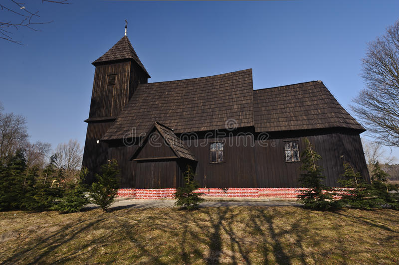 Poland (Lower Silesia) - country church royalty free stock photography