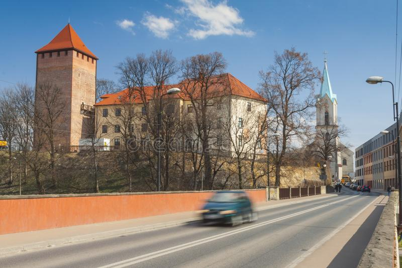 Poland, Malopolska, Oswiecim, Piast Castle royalty free stock photography