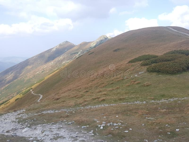 Poland, Malopolska, West Tatra mountains. stock images