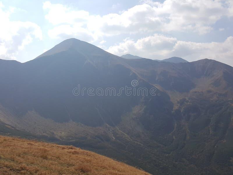 Poland, Malopolska, West Tatra mountains - the Starorobocianski peak. stock images