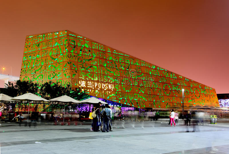 Download The Poland Pavilion At The World Expo In Shanghai Editorial Photo - Image: 14860681