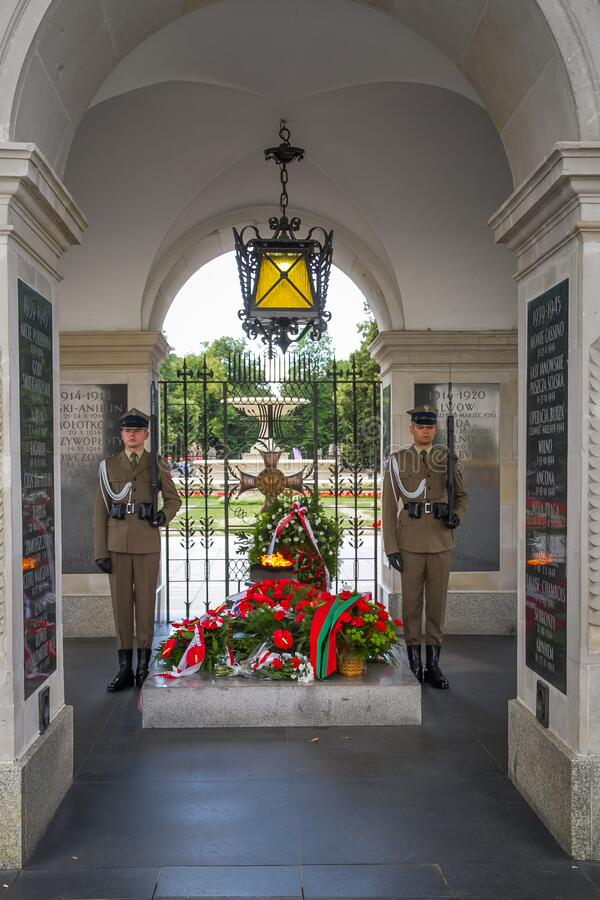 Free Poland, Warsaw, Tomb Of The Unknown Soldier Royalty Free Stock Photography - 193962757