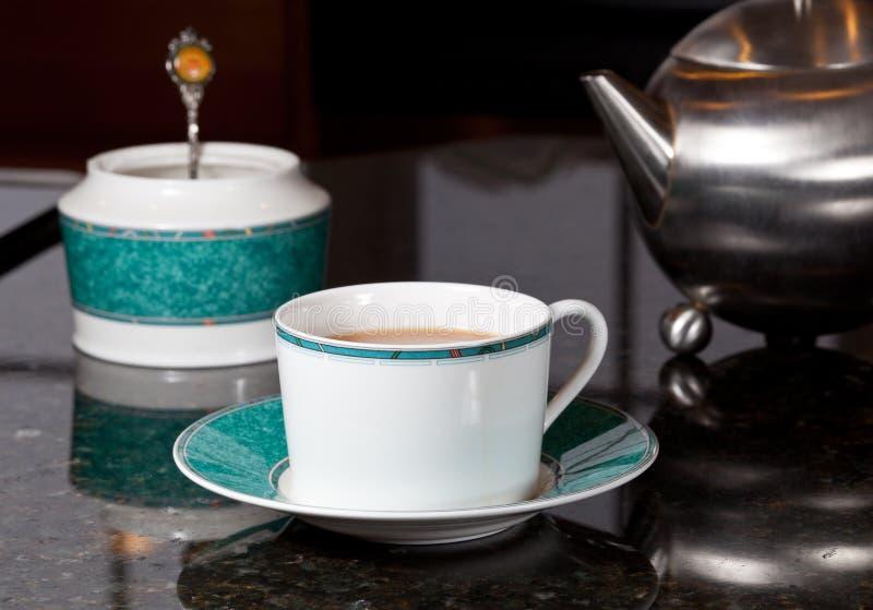 Polany stali nierdzewnej herbaty teapot
