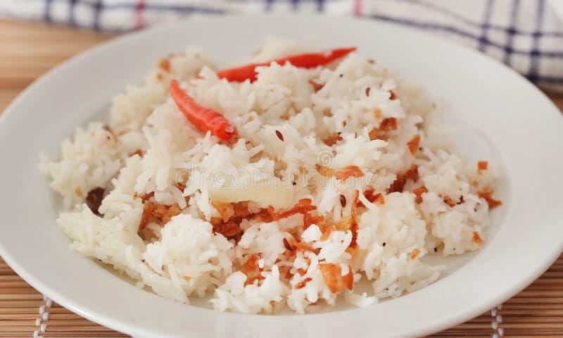 Polao o el pilaf es arroz especialmente cocinado foto de archivo