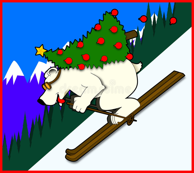 Polar_bear ilustração royalty free