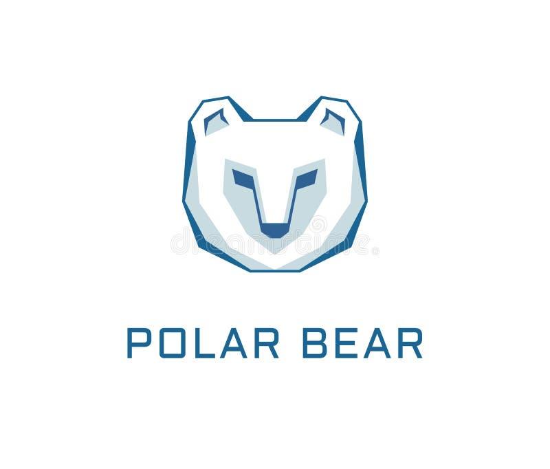 Polar bear logo vector stock illustration