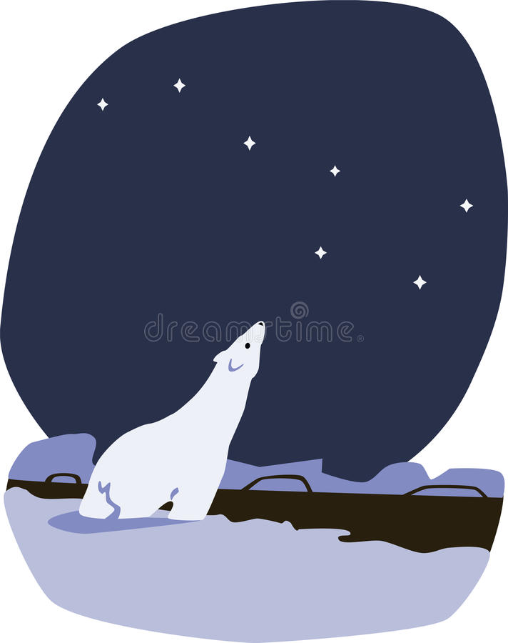 Download Polar bear stock vector. Image of illustration, polar - 33926622