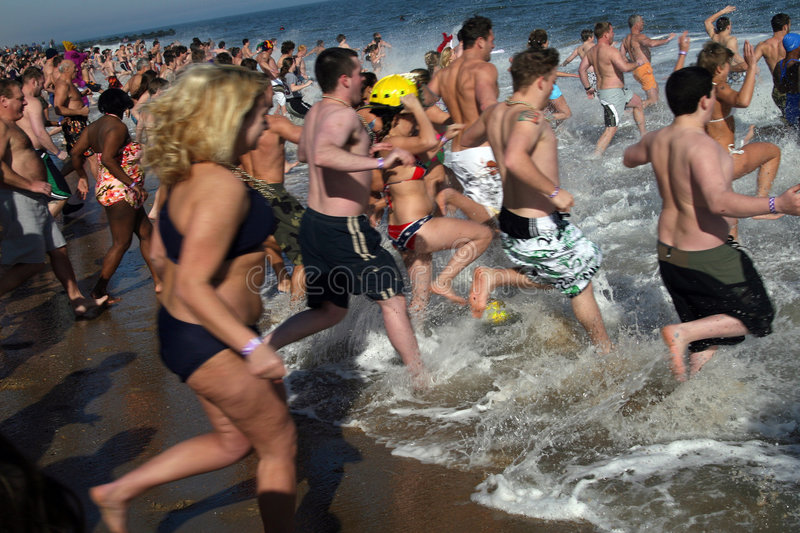 Download Polar Bear Plunge editorial photo. Image of event, massive - 8179671