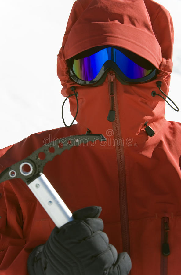 Polar Exploration Stock Photo