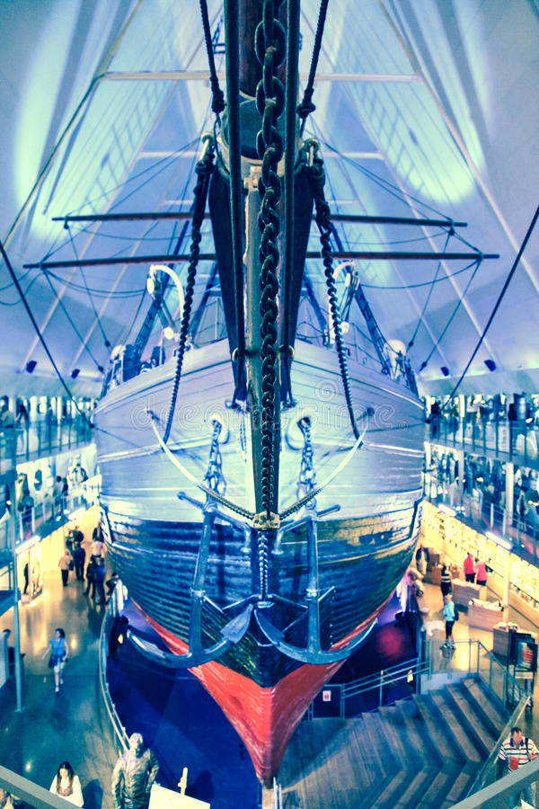 Free Polar Ship Fram In Oslo, Norway Royalty Free Stock Image - 46335936