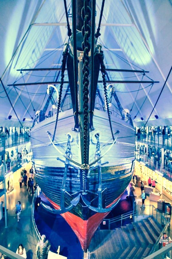 Polar ship Fram in Oslo, Norway royalty free stock image