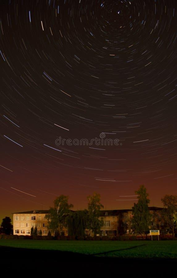 Polar stjärna arkivfoto