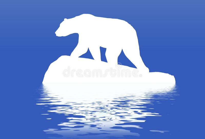 Polarbear illustration libre de droits