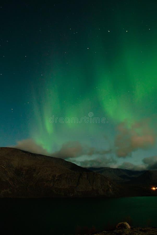 Polaris da Aurora um o outono fotografia de stock royalty free