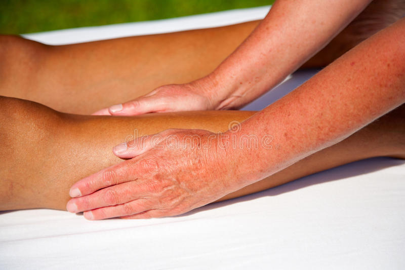 Download Polarity massage stock image. Image of stress, alternative - 27079747