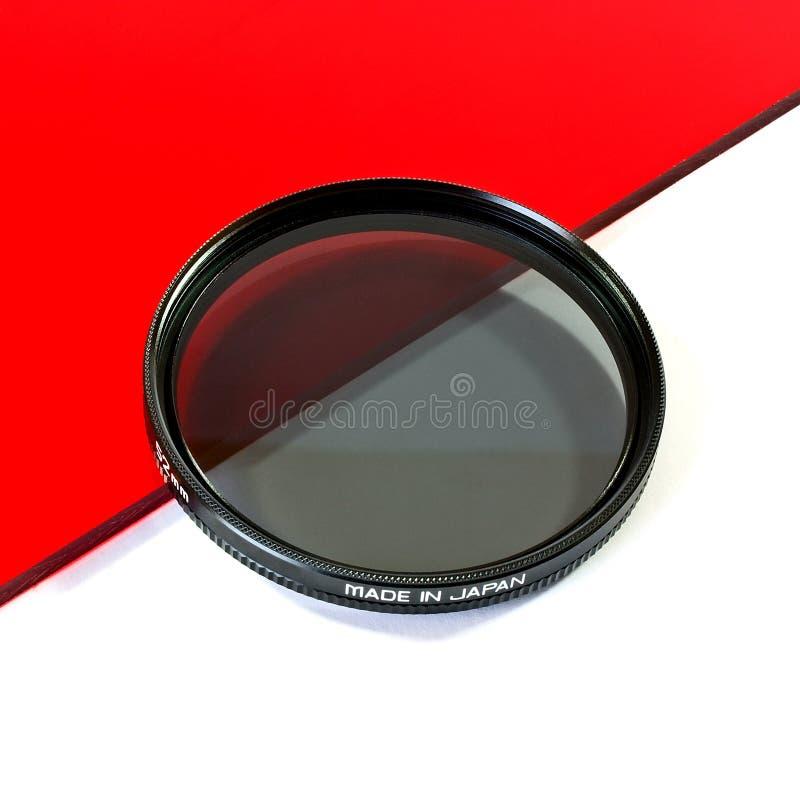 Polarizing lens royalty free stock images