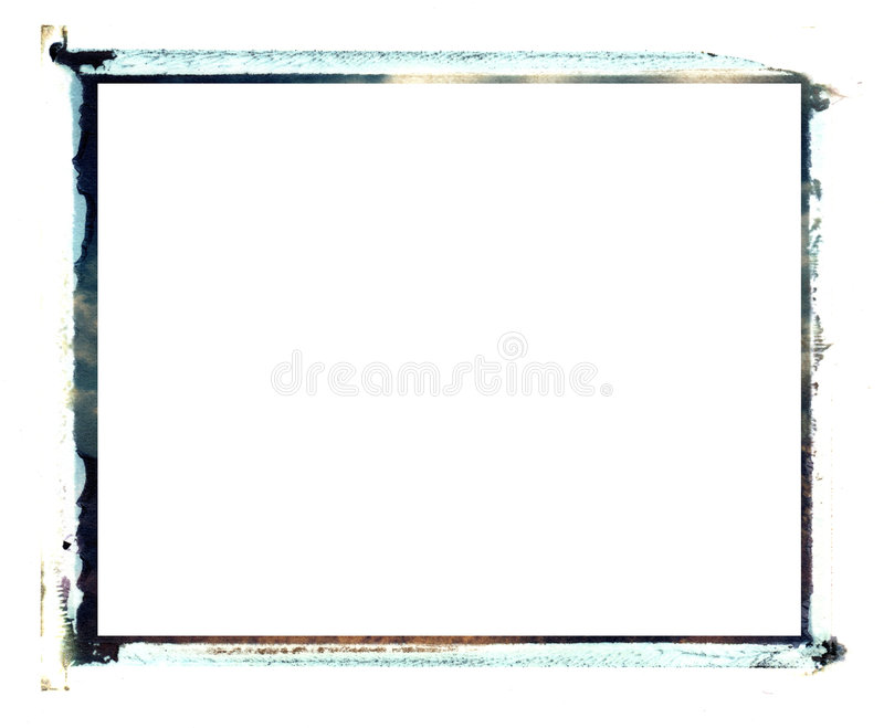 Polaroidübergangsrand lizenzfreies stockbild