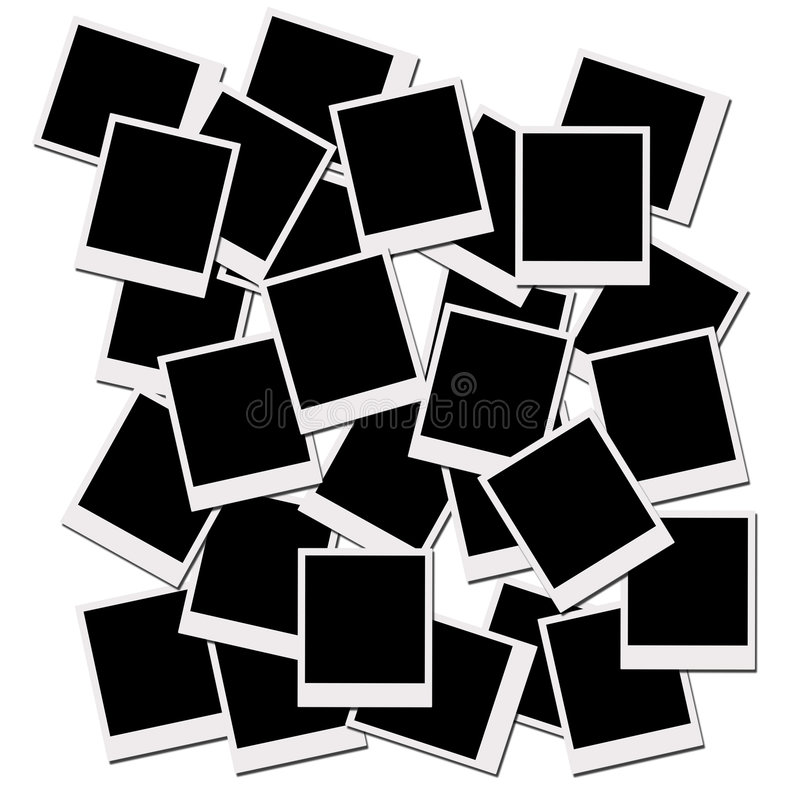 polaroid ταινιών ελεύθερη απεικόνιση δικαιώματος