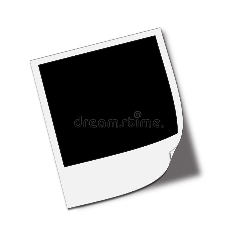 polaroid φωτογραφιών απεικόνιση αποθεμάτων
