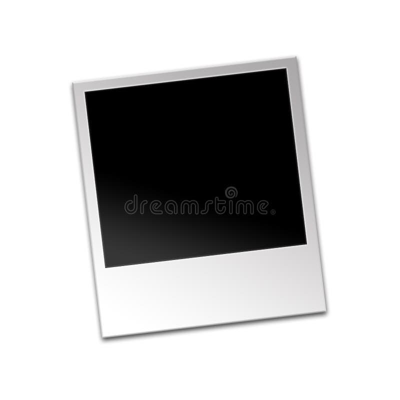 polaroid φωτογραφιών διανυσματική απεικόνιση