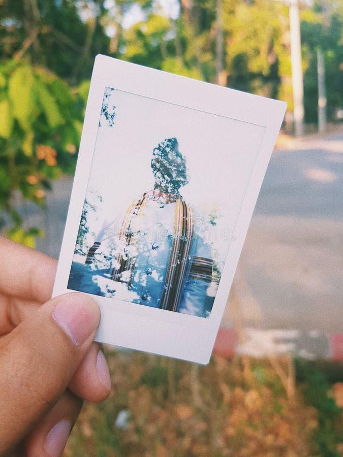 polaroid stockfotografie
