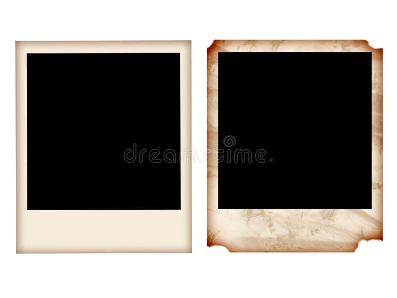 polaroid royalty ilustracja