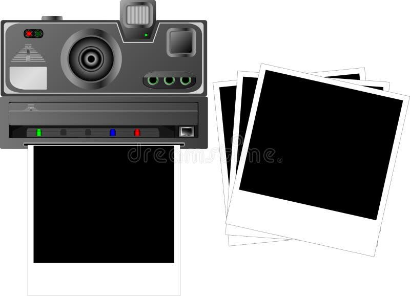 polaroid απεικόνιση αποθεμάτων