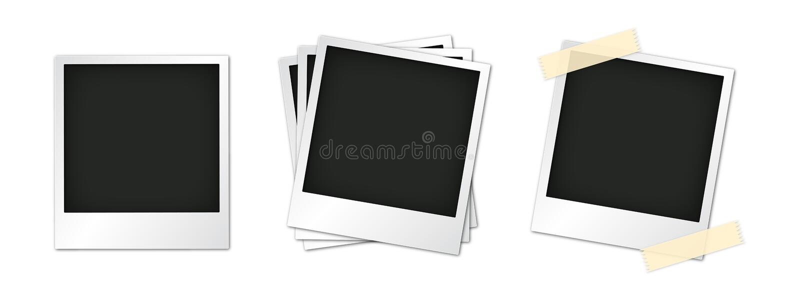 polaroid διανυσματική απεικόνιση